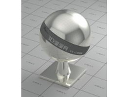 High polished stainless steel vray material