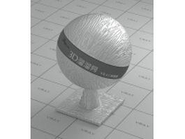 Silver metallic membrane vray material