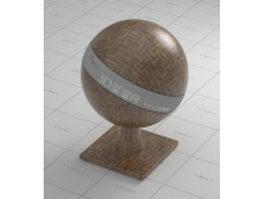 Parquet floor board vray material