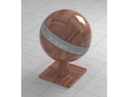 Hardwood parquet floor vray material