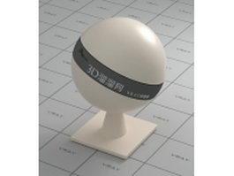 White egg shell vray material
