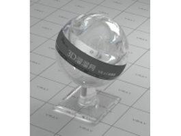 Swarovski crystal vray material