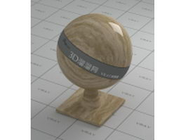 Brown wave marble vray material