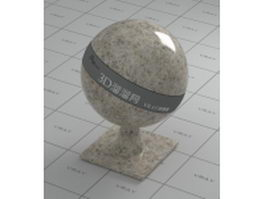 Polished beige granite vray material