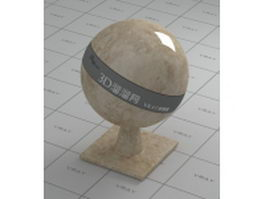 France cream marble vray material