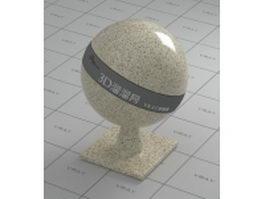 Sesame grain beige marble vray material