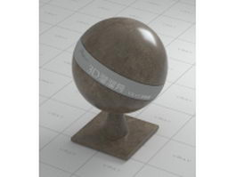 Classic brown marble vray material