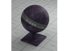 Dark purple leather vray material