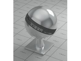 Chromium iron alloy vray material