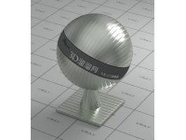 Machining aluminium alloy vray material