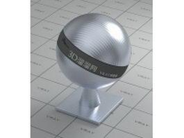 Texture bump aluminium alloy vray material