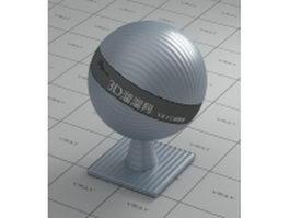 Texture bump tin vray material