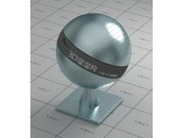 Texture bump terne metal vray material