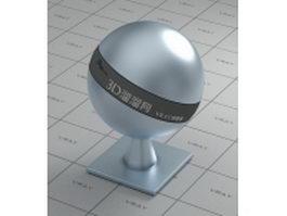 Zinc-plating material vray material