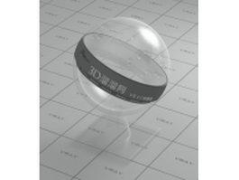 Transparent PVC plastic vray material