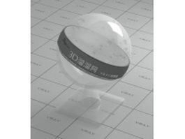 Polypropylene (transparent PP plastic) vray material