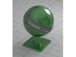 Glass-reinforced plastic - green vray material