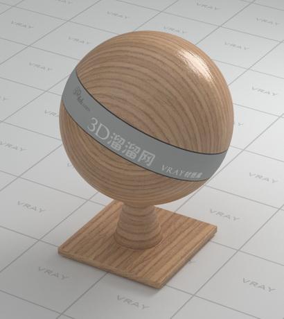 Faux wood material rendering