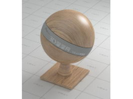 Artificial wood board vray material