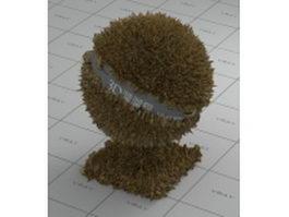 Stool sample vray material