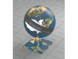 Earth surface vray material