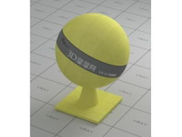 Tennis ball vray material