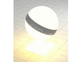 Light source vray material