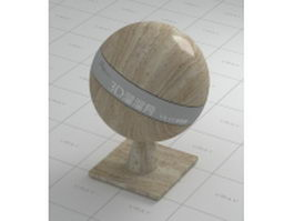 Wood grain granite vray material