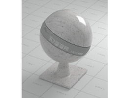 White grain granite vray material