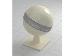 Citato beige marble vray material