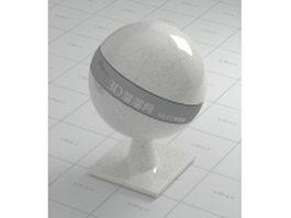Ceara white granite vray material