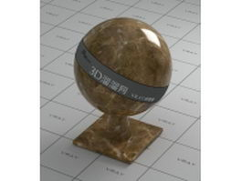 Light brown marble vray material