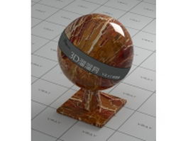 Diaspro Rosso marble vray material