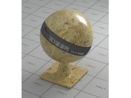 Gold desert marble vray material