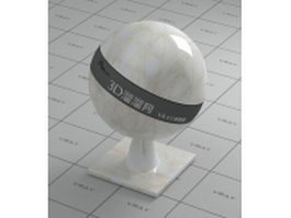 Venata white marble vray material