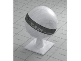 Ariston white marble vray material