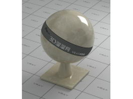 Focus cream marble vray material