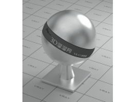 Stainless steel - circular brushed surface vray material