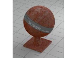 Rusty Cor-Ten steel vray material