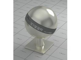 Polished nickel alloy vray material