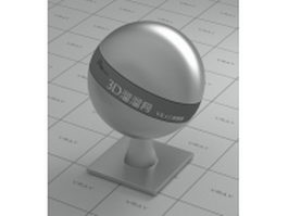 Machined metal - satin finish vray material