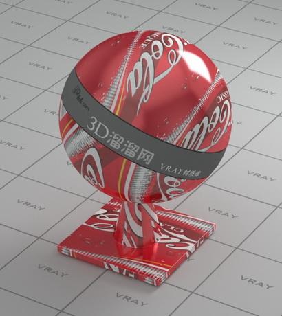 Coke Can Vray Material Cadnav Com