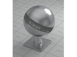 Brushed steel vray material