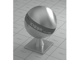 Brushed stainless steel vray material