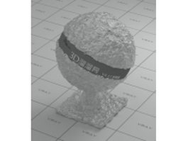 Tinfoil wrapper vray material