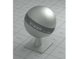 Titanium based alloy vray material