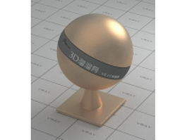 Satin finish copper vray material