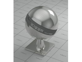 Concentric metal vray material