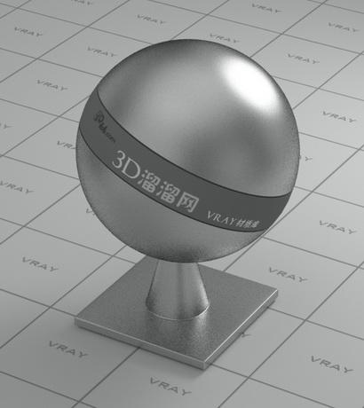Chromium plated material rendering