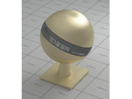 Gold brushed vray material